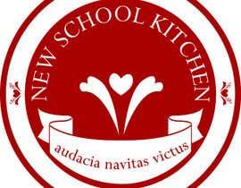 "christianimontes tarafından Design a Logo for ""New School Kitchen"" restaurant için no 31"
