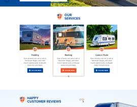 #36 for Design homepage for website trailer dealer by pixelwebplanet