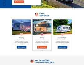 #38 for Design homepage for website trailer dealer by pixelwebplanet
