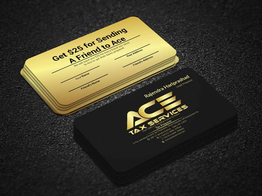 Entry 49 by sakib161 for business card ace freelancer business card ace reheart Choice Image