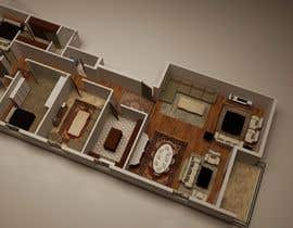 #14 for Presenting a floor plan in an attractive way by hebahelkomy
