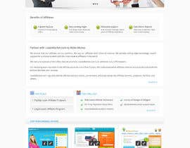 nº 68 pour Website Design for LeadsMarket.com par Pavithranmm