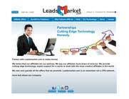 Contest Entry #62 for Website Design for LeadsMarket.com