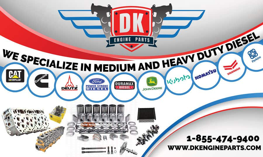 Contest Entry #52 for Design a Company Banner For Engine Parts