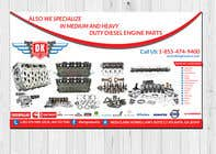 Graphic Design Contest Entry #93 for Design a Company Banner For Engine Parts