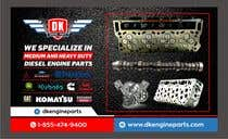 Graphic Design Contest Entry #74 for Design a Company Banner For Engine Parts