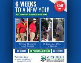 Nro 42 kilpailuun medical weight loss flyer käyttäjältä siambd014