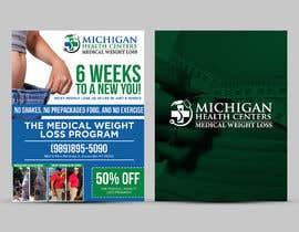 Nro 29 kilpailuun medical weight loss flyer käyttäjältä ephdesign13