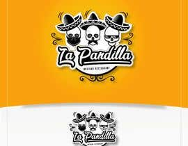 #75 for A creative and unique logo for a mexican restaurant called La Pandilla  The name means in English (the gang) I need to see crazy ideas No generic ideas or standard logo templates or copies from other logos will be accepted by AndreiaSantana27
