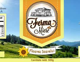 #18 untuk Label design for Honey Jar (eticheta miere) oleh lau87artugyan