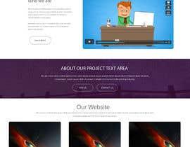 #1 untuk Create a landing page design PSD oleh nikhiltank35