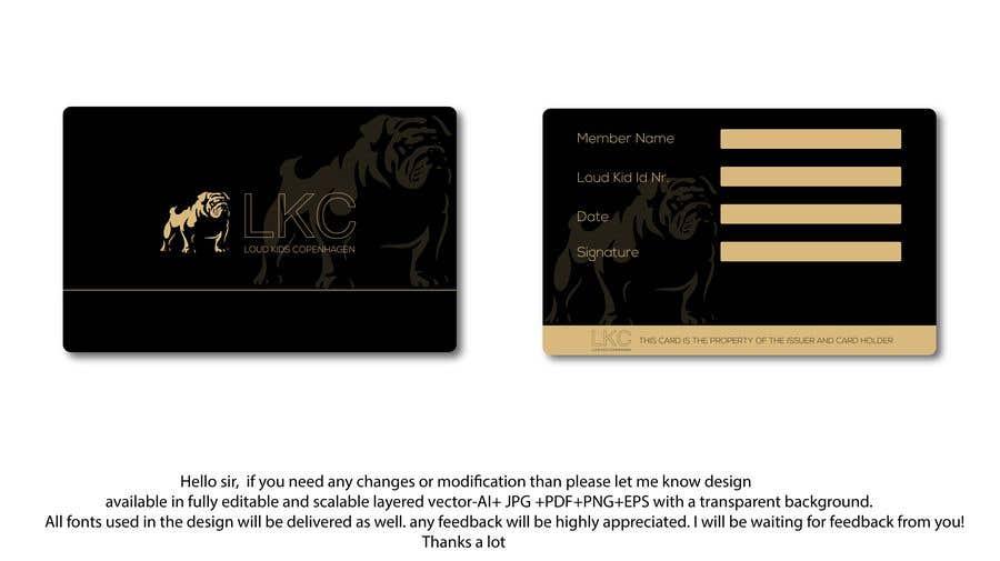 Entry #72 by mmasumbillah57 for Design a member card | Freelancer