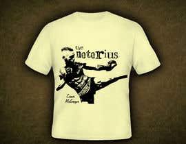 nº 14 pour Design a T-Shirt for Conor McGregor par machine4arts