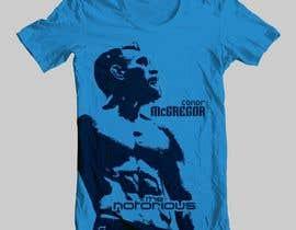 nº 10 pour Design a T-Shirt for Conor McGregor par Iddisurz