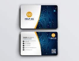 Nro 110 kilpailuun Design profesisonal Business Cards for Cybersecurity käyttäjältä Zarion04