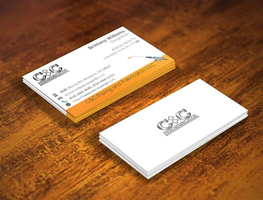 Entry #26 by shishirpodder for We need a unique business card ...