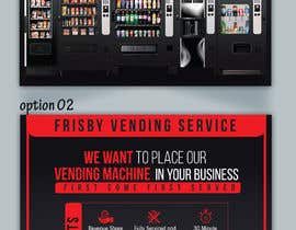 #64 for Design a Flyer For A Vending Machine Company by ssandaruwan84