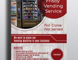 #21 for Design a Flyer For A Vending Machine Company by shapelover