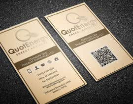 #255 untuk Vertical Business card for Energy firm oleh graphictania