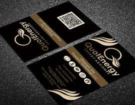 #256 untuk Vertical Business card for Energy firm oleh graphictania