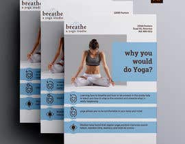 #23 untuk I need some Graphic Design for a yoga studio oleh masudhridoy