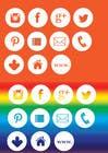 Graphic Design Inscrição do Concurso Nº4 para Web and Online Marketing Icon Design Set