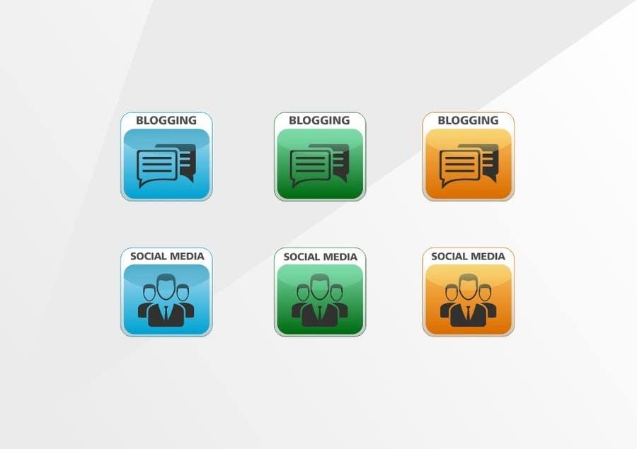 Inscrição nº                                         11                                      do Concurso para                                         Web and Online Marketing Icon Design Set