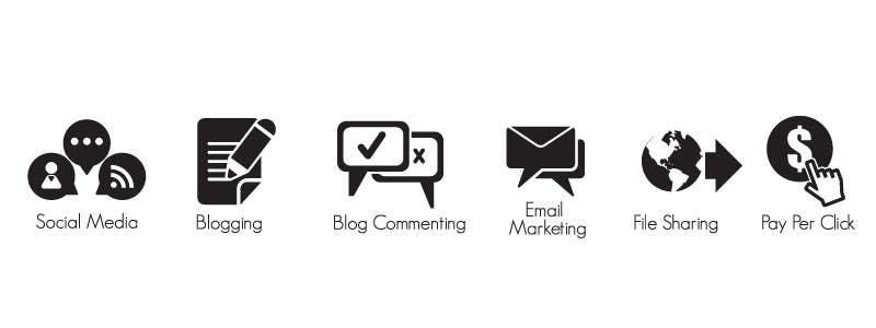 Inscrição nº                                         3                                      do Concurso para                                         Web and Online Marketing Icon Design Set