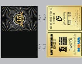 Nro 3 kilpailuun Nova 15th Anniversary Invite käyttäjältä ershad0505