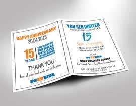 Nro 11 kilpailuun Nova 15th Anniversary Invite käyttäjältä ershad0505