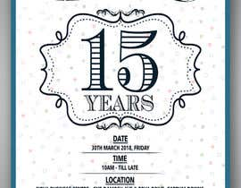#6 for Nova 15th Anniversary Flyer by vaishaknair