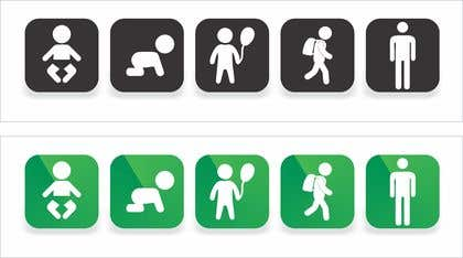 Image of                             5 simple icons