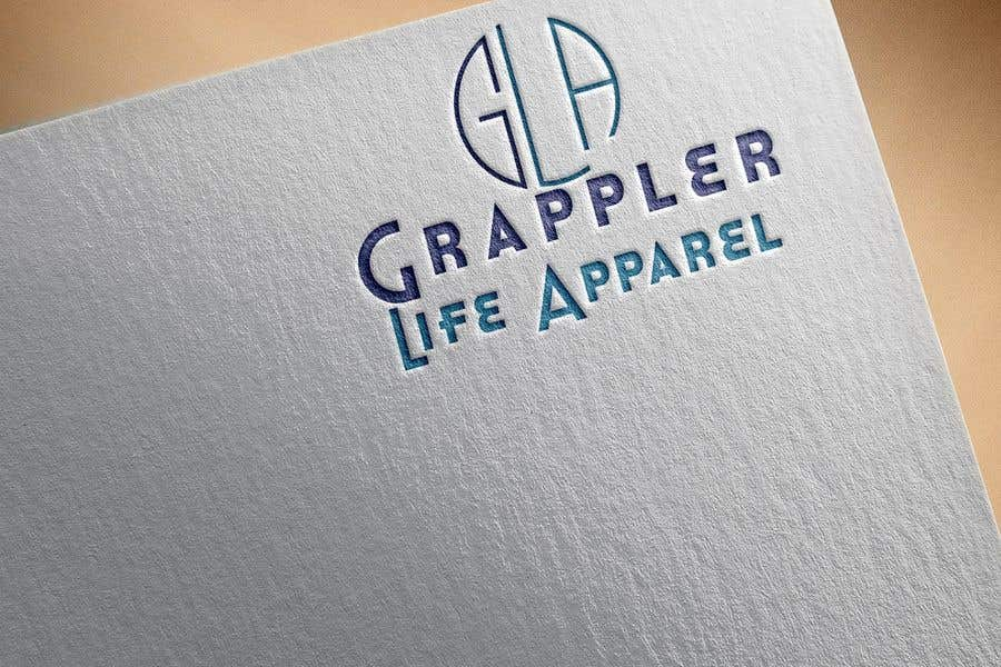 Contest Entry #19 for I need a simple one color logo designed for a clothing line.  The logo needs to be simple but yet recognizable once the customer has seen it.  I do not want letters or the name in the logo.  www.zazzle.com/grappler_life
