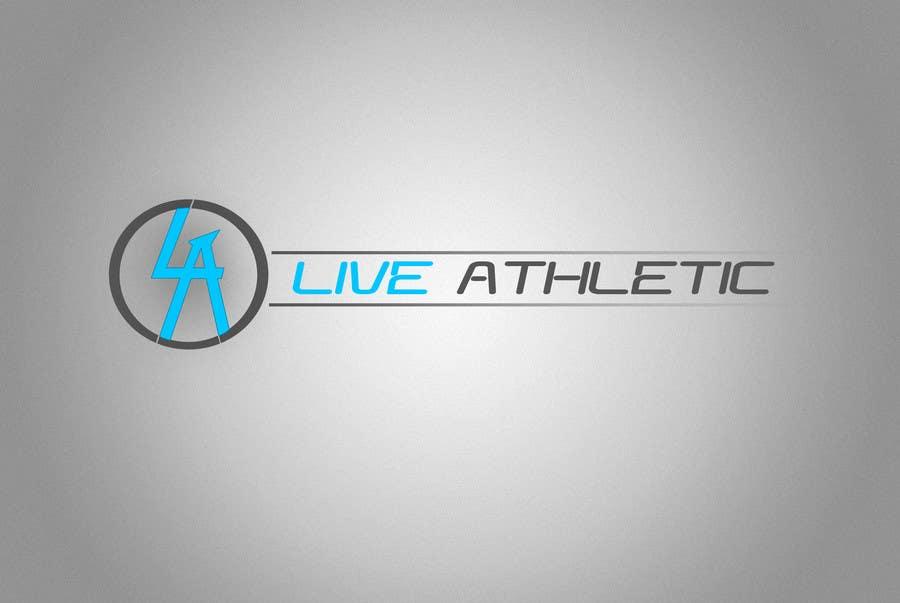 Konkurrenceindlæg #376 for Logo Design for LIVE ATHLETIC