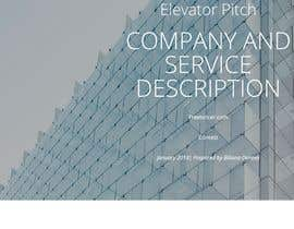#2 cho Create a clear and compelling elevator pitch and service descriptions . bởi bilianka23