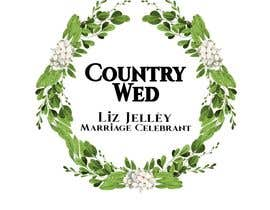 "#13 for I need a logo for my new business. I want it to have a classy country vibe. The company name is ""Country Wed"", and it needs to also contain ""Liz Jelléy - Marriage Celebrant"" Maybe some sort of botanic or wreath like logo. Thanks by anghelrox"