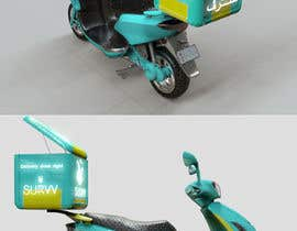 youcefcripcho tarafından Desing a delivery courier box for scooter/bike and model için no 40