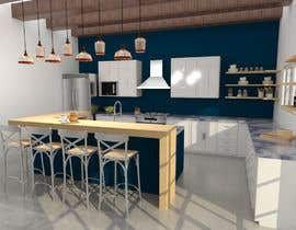 #7 for Kitchen Layout and Design by Ximena78m2