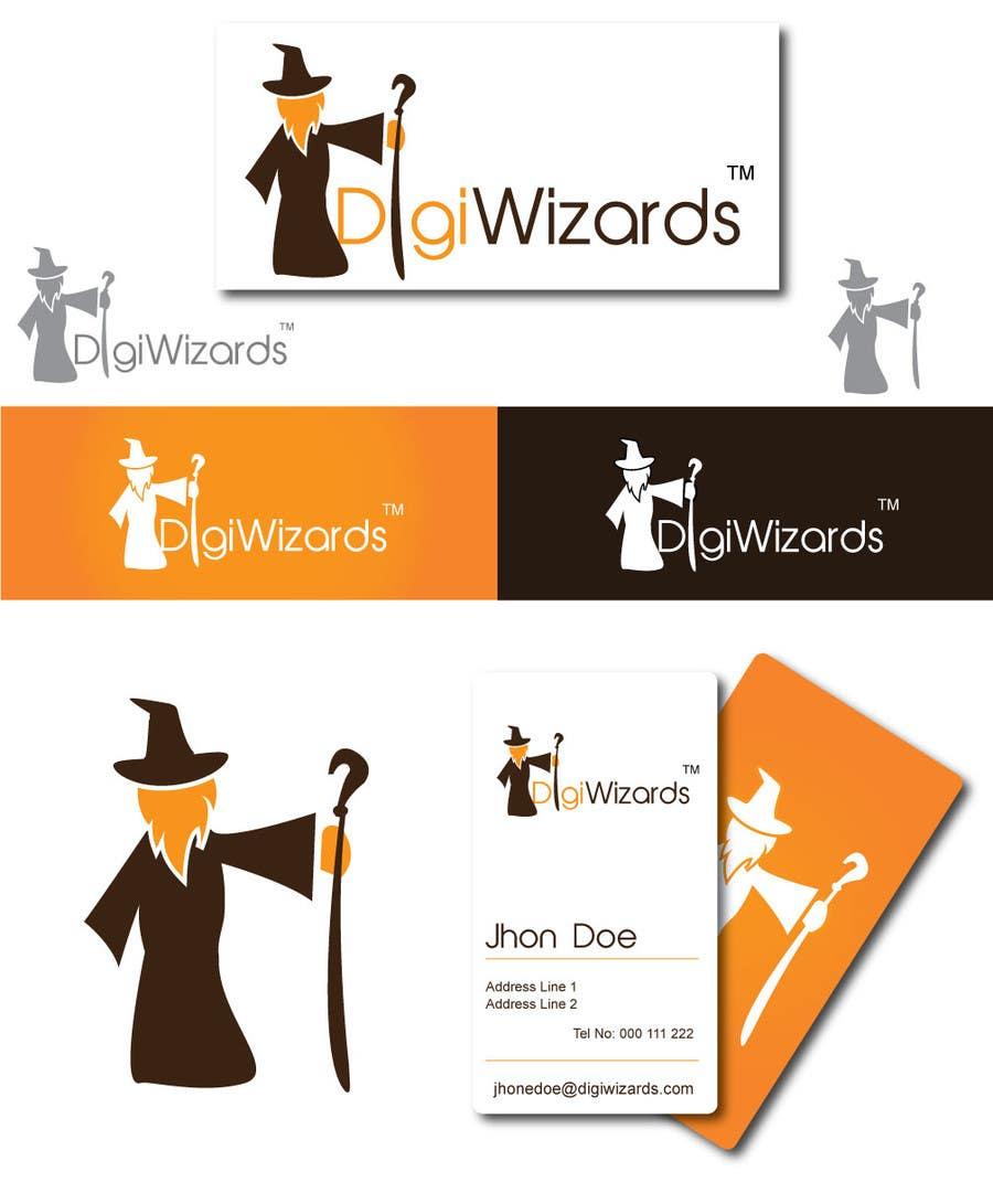 Конкурсная заявка №545 для Logo Design for DigiWizards