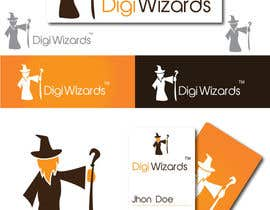 #546 for Logo Design for DigiWizards by akshaydesai