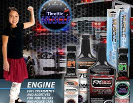 #47 para Advertisement Design for Throttle Muscle por F5DesignStudio