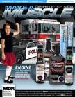 Advertisement Design for Throttle Muscle için Graphic Design21 No.lu Yarışma Girdisi