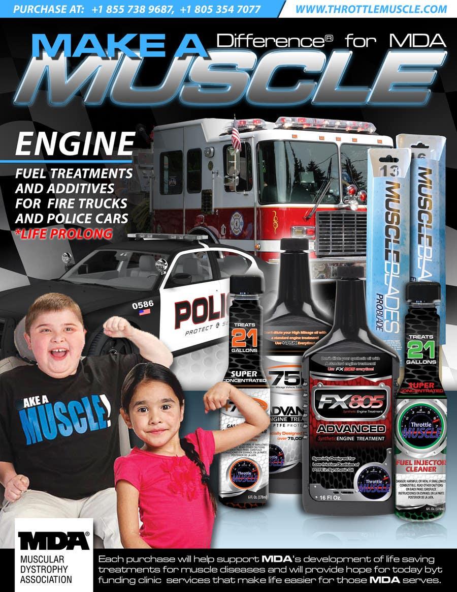 Penyertaan Peraduan #                                        22                                      untuk                                         Advertisement Design for Throttle Muscle