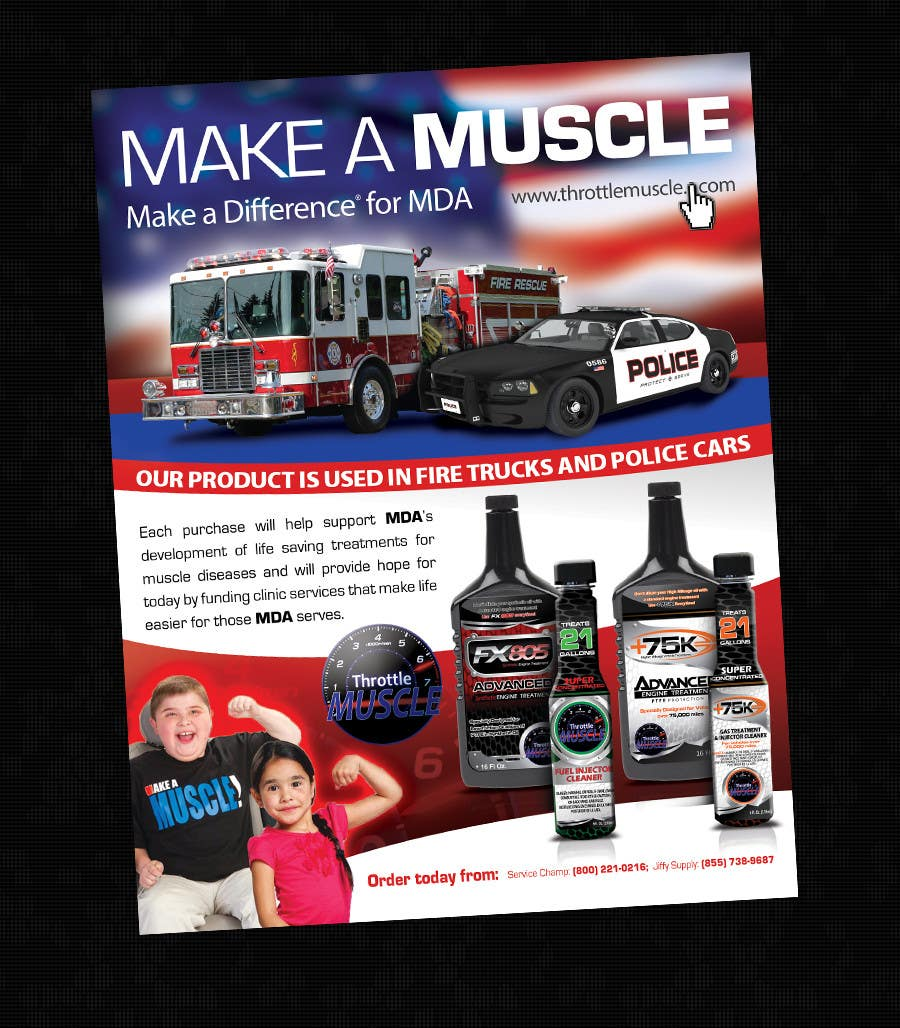 Penyertaan Peraduan #                                        23                                      untuk                                         Advertisement Design for Throttle Muscle