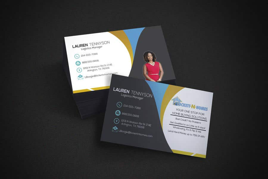 Entry 63 by khaledalmanse for design some double sided real estate contest entry 63 for design some double sided real estate business cards colourmoves