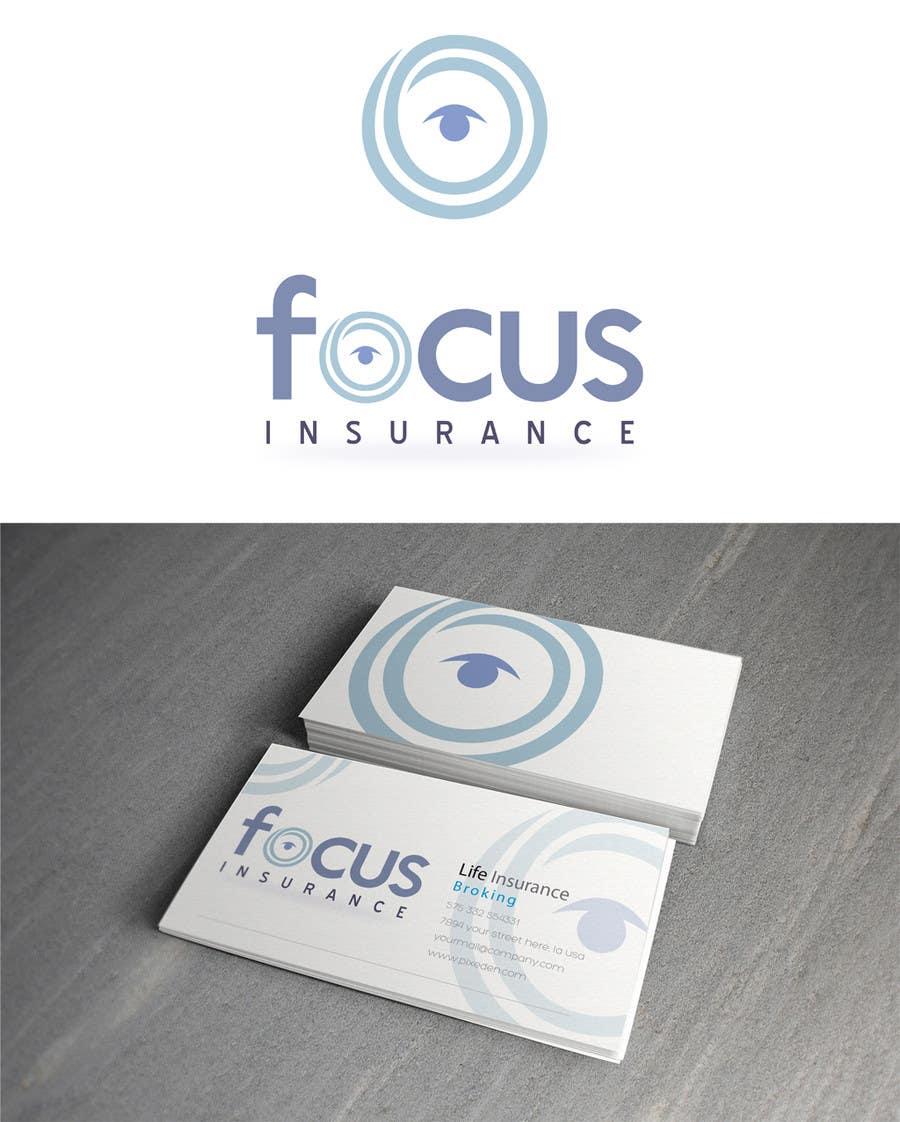 Inscrição nº 608 do Concurso para Logo Design for Focus Insurance