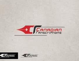 #81 untuk Design a Logo for Canadian Transcriptions oleh GeorgeOrf