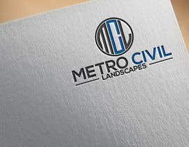 #51 for Metro Civil Landscapes Logo by mpmony50