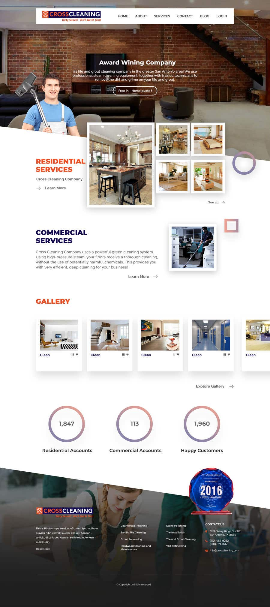 Kilpailutyö #20 kilpailussa Wow Me with Creative Redesign of Wordpress Website