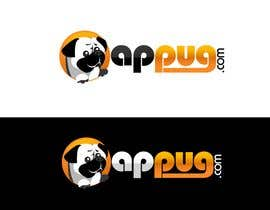 "#207 , ""Pug Face"" logo for new online messaging service 来自 pinky"